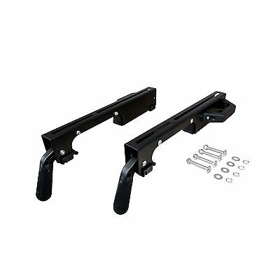 POWERTEC MT4000MBA Miter Saw Stand Mounting Bracket Assembly, 2PK NEW, Free Ship