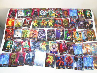 SPIDERMAN HEROES & VILLAINS CARDS Foil Trading Marvel spider-man collection