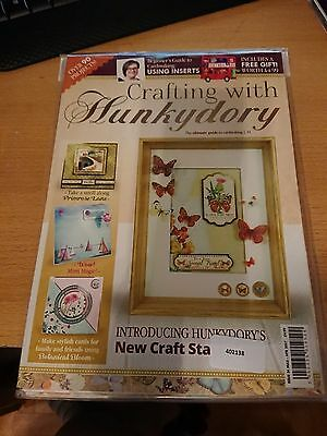 Crafting with Hunkydory Issue 34 mit Gratisbeigabe