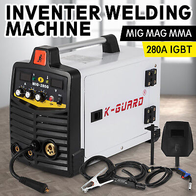 MIG MAG MMA Inverter Weldeing Machine 280 Amp MIG Stable MMA STRONG PACKING