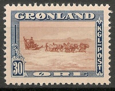GREENLAND - 1945 American issue 30 ore  - MNH VF -Facit 15