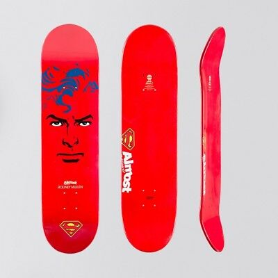 """Almost Superman Abstract R7 Deck Rodney Mullen - 8""""- Free Grip - Free P&P"""
