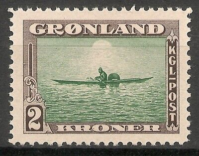 GREENLAND - 1945 American issue  2 Kr  - MNH VF -Facit 17