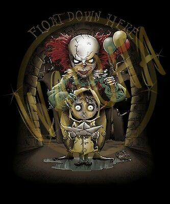 it pennywise the clown float down here image men s t shirt