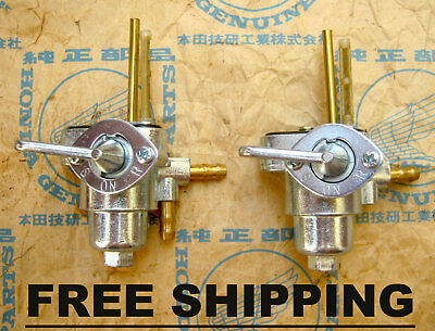 Honda CL50 CL70 CL90 CZ100 CB100 Dax ST50 ST70 Fuel Tap Petcock - FREE SHIPPING