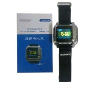 laser therapy wristwatch
