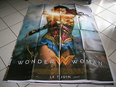 Affiche Cinema 120X160*wonder Woman ""
