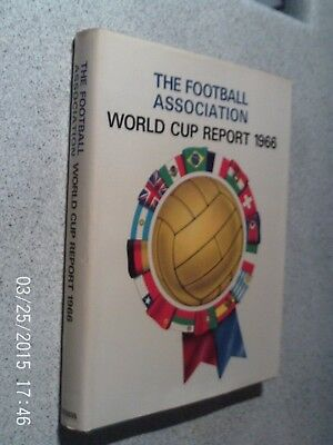 "Scarce-- "" The Football Association World Cup Report 1966""-- With Dust Cover --"