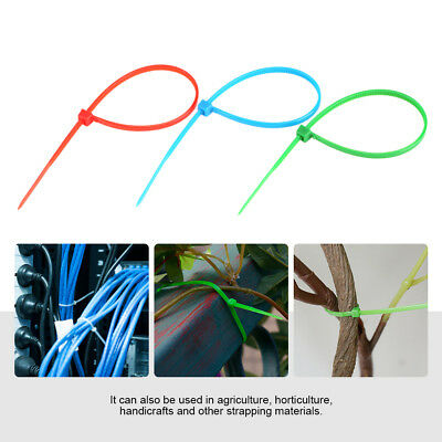100Pc 3x150mm Mini Nylon Cable Self Locking Zip Ties Wire Wrap Fasten Strap OB