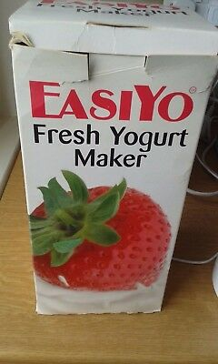 Easiyo yoghurt maker with box-1kg yoghurt jar with instructions