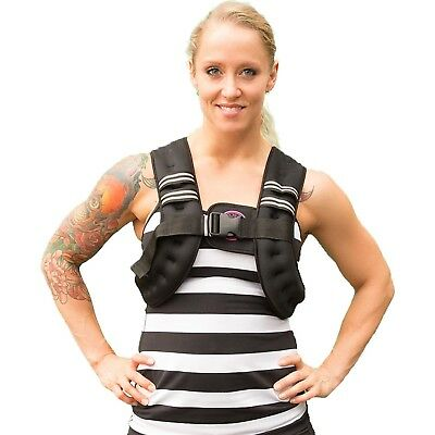 (5kg, Pink) - Iron Weighted Vest for Men and Women - Evenly Distributed Iron