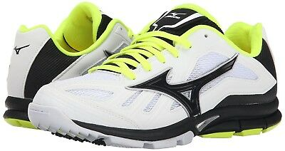 (10.5 B(M) US, White/Black) - Mizuno Women's Players Training Shoe