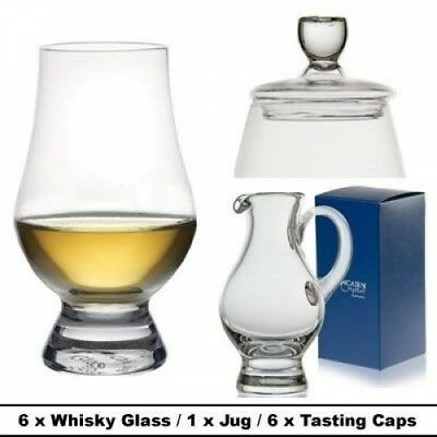 The Glencairn Official Whisky 6 Glass, Jug and Cap Set. Shipping is Free