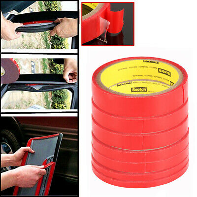 Car Strong Permanent Double Sided Adhesive Sticky Tape Roll Adhesive 5mm-30mm