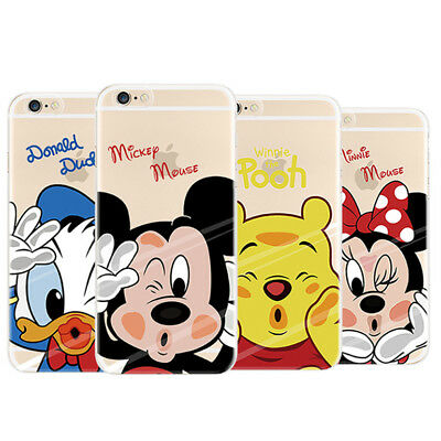 Case for Various Phones Lovely Clear Ultra Thin Soft TPU Skin Back Phone Shell
