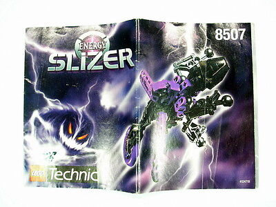 Lego Slizer Energy Instructions For Set 8507