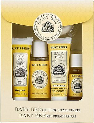 Burts Bees Baby Bee Getting Started Kit Gift RRP £12 *BNWT*