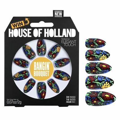 House Of Holland False Nails - Bangin Bouquet (24 Nails)