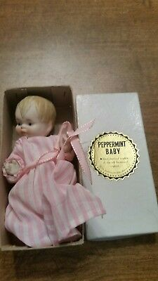 peppermint baby small doll replica