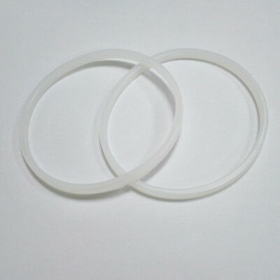 2pcs Replacement white rubber gasket seal Ring For Blades NUTRIBULLET 600W