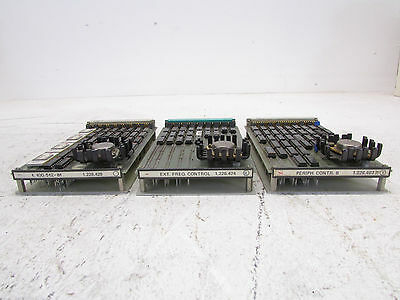 Studer 228 and B67 recorder set with 3 PCB cards; types; 1.167.713 - 1.228.428 -