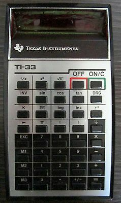 Calcolatrice Texas instruments TI 33
