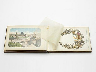 FLOWERS AND VIEWS OF THE HOLY LAND JERUSALEM c.1900
