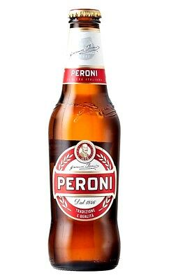 24  x  PERONI Red Lager - Case  (24x 330mL)