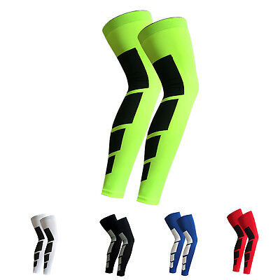 1pair bicycle MTB cycling leg warmers sleeve polyester fabric knee warmer E M6E1