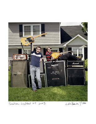 Brand New / Limited Edition, Signed & Numbered 16x20 Print /Jesse Lacey at home