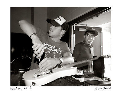 Brand New / Signed, Fine Art Print /11x14 / Jesse Lacey / On Tour
