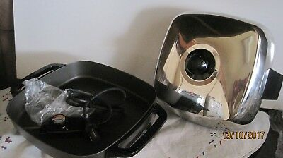 Ronson Electric Frying Pan-New In Plastic-Never Used-No Longer Needed Present