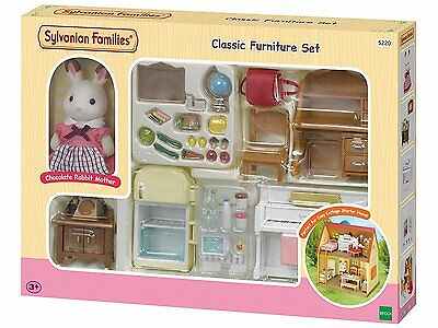 Sylvanian Families Classic Furniture Set for Cosy Cottage Starter Home (epoch)