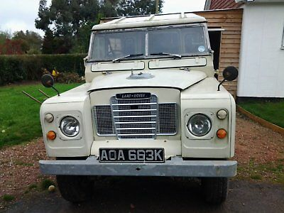 Land Rover Series 3 SWB 1971 2.3 Petrol- fabulous condition!