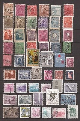 Yugoslavia -  Lot Of 178 Stamps - 3 Images