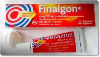 FINALGON OINTMENT- MUSCLE JOINT PAIN ARTHRITIS-20 g