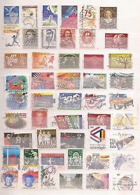 Netherlands  -   Lot Of 160 Stamps  - 3 Images