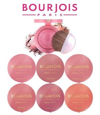 Bourjois Blush Depuis 1863 Little Round Pot Blusher Brand New **choose Shade**