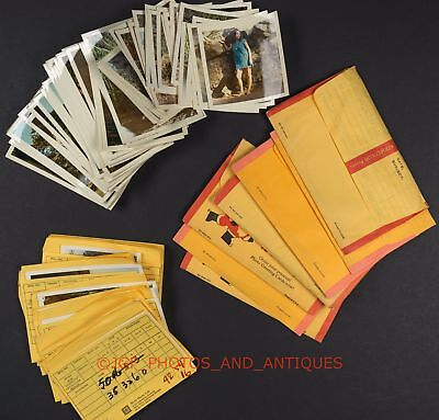 Large Lot Of 1960S Beautiful Young Models Photos & Corresponding Color Negatives