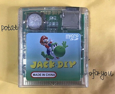 JACK DIY GB,EVERDRIVE Flash cartridge for Game Boy with interface for GB GBC
