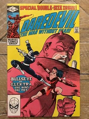 Daredevil #181 (death of Elektra)--Frank Miller Run--Direct Edition