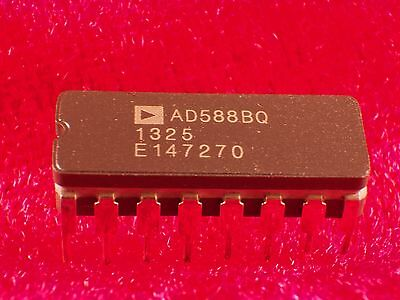 Original AD588BQ Very-High-Precisons-Reference-Voltage IC / TK.=1,5ppm/C° !