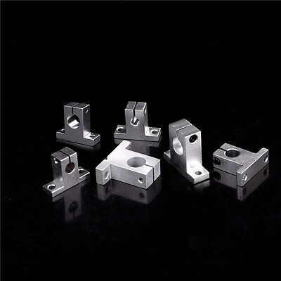 3PC SK8-20 Bearing Linear Rail Shaft Support XYZ Table CNC Router HU 1yh