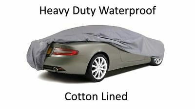 Quality Waterproof Car Cover Mg Tf All Years Heavy Duty Cotton Lined Luxury