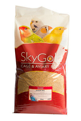 SkyGold Budgie Red Bird Food Seed Mix 20kg