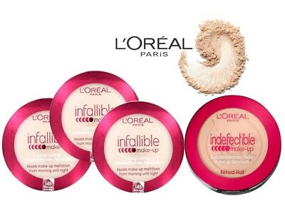 L'oreal Indefectible Infallible Powder Foundation New **choose Your Shade`**