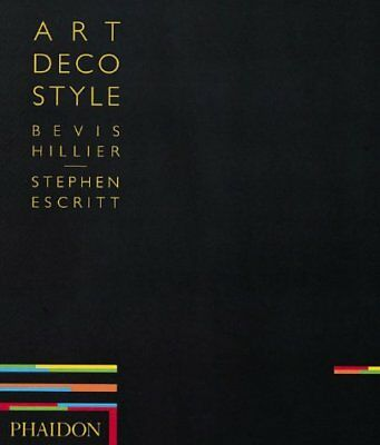 ART DECO STYLE By Hillier Bevis - Hardcover **BRAND NEW**