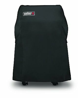 Weber 7105 Grill Cover for Spirit 210 Series Gas Grills, 25.8 x 42.8-Inch, Black