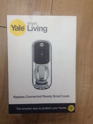 Yale Keyless Connected Touch Screen Smart Wireless Door Lock Keypad Brand New