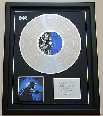 JOHNNY CASH At San Quentin CD / PLATINUM LP DISC Presentation